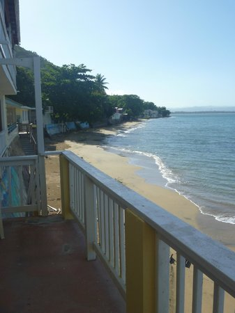 LemonTree Oceanfront Cottages: View from Pina suite