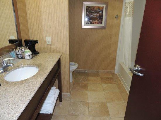Hampton Inn & Suites Woodstock : Bathroom