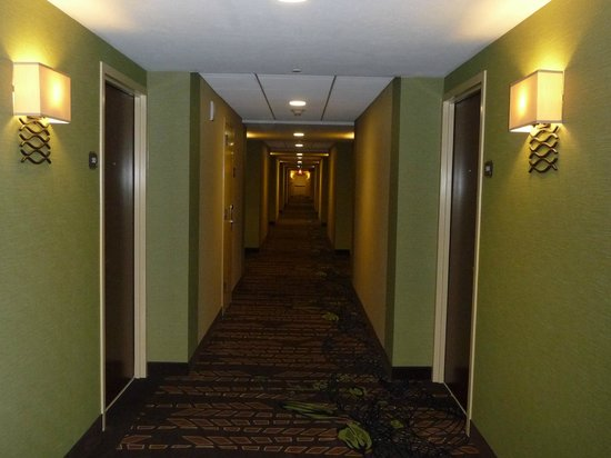 Best Western Premier Waterfront Hotel & Convention Center: Hallway outside of rooms