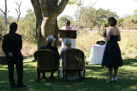 Ilala Lodge: ceremony