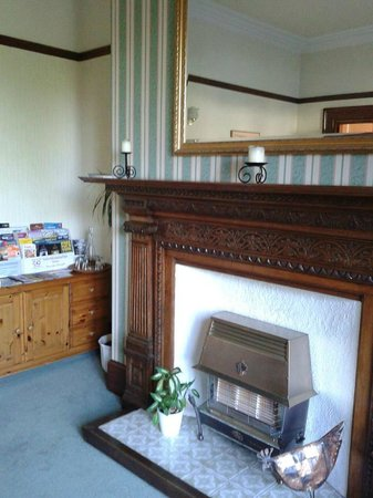 Lounge im Foss Bank Guest House
