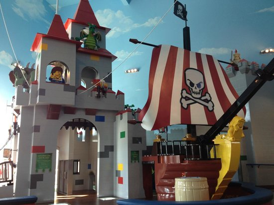 Lego Castle And Pirate Ship Picture Of Legoland