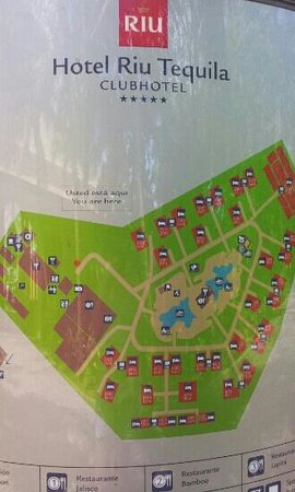 Resort map We stayed in 709 perfect location Picture of Hotel