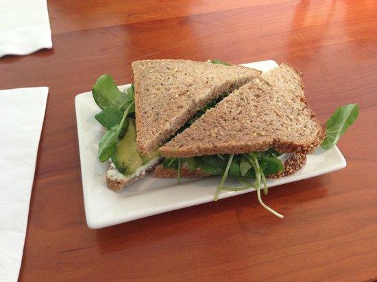 Wichcraft: Goat Cheese Sandwich