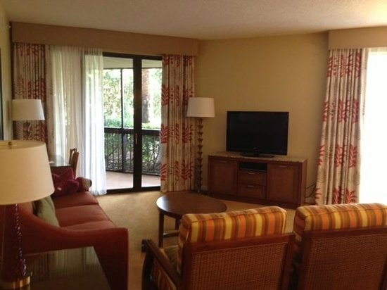 Marriott's Sabal Palms: Living Room