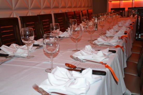 The Reserve Steakhouse: Sheva Brachot
