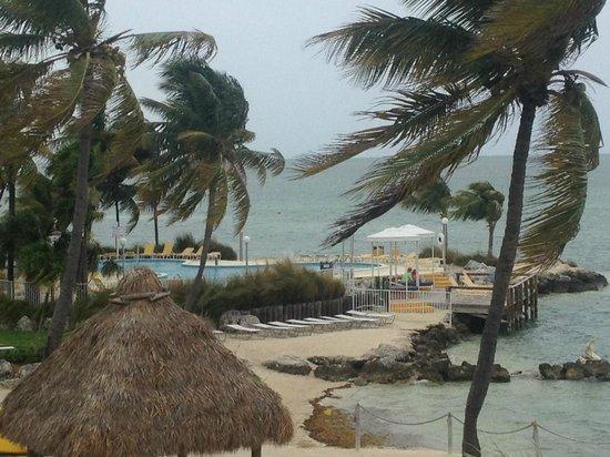 Postcard Inn Beach Resort & Marina: Windy Day at Postcard Inn