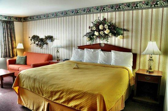 Rodeway Inn Auburn-Foresthill: unser Zimmer