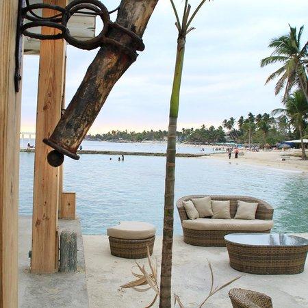 Sca Beach Club Restaurant: Nuestro dock