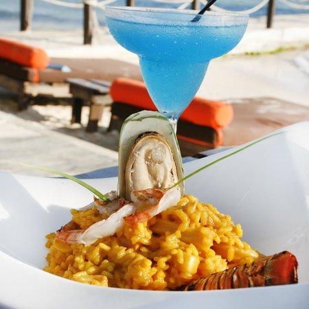 Sca Beach Club Restaurant: Sca Blue