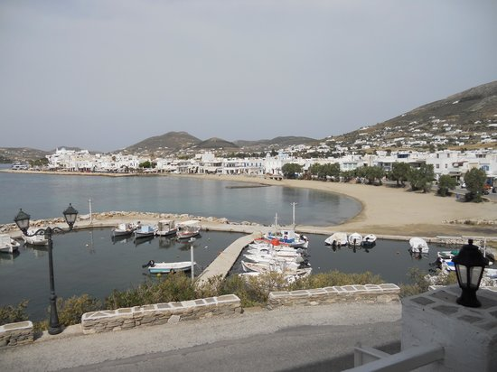 Pandrossos Hotel: View From Patio