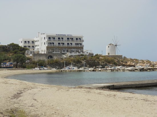 Pandrossos Hotel from Road