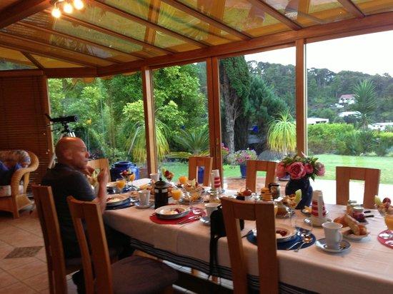 Chalet Romantica: breakfast