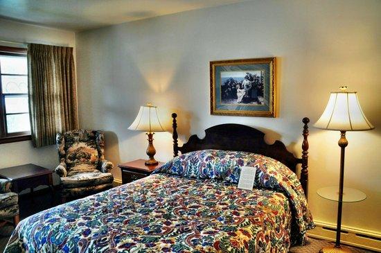 Glass House Inn: unser Zimmer