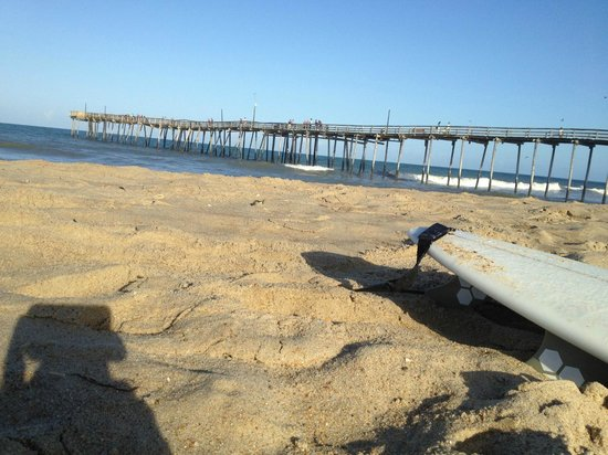 Kite Club Hatteras: Nearby Avon Pier is a popular spot to launch for ocean downwinders, or just play on the beach/su