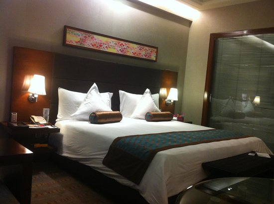 Crowne Plaza Hotel Gurgaon: Room - Great Room!