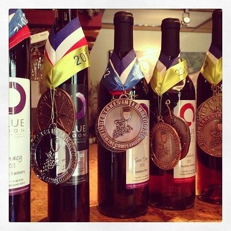 Blue Moon Winery: Medals