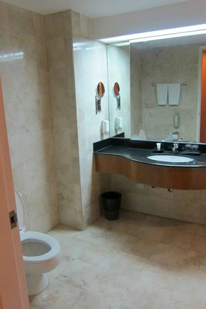 Somerset Millennium Makati: nice toilet and bathroom