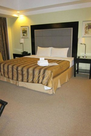 Somerset Millennium Makati: comfortable bed
