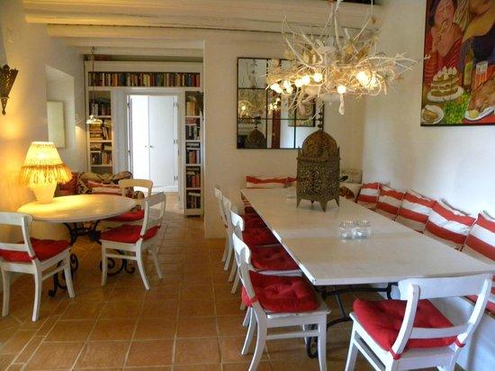 Quinta da Cebola Vermelha: Sala da pranzo