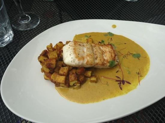 Blackhouse - The Grill on the Square : hake coronation. Very tasty!