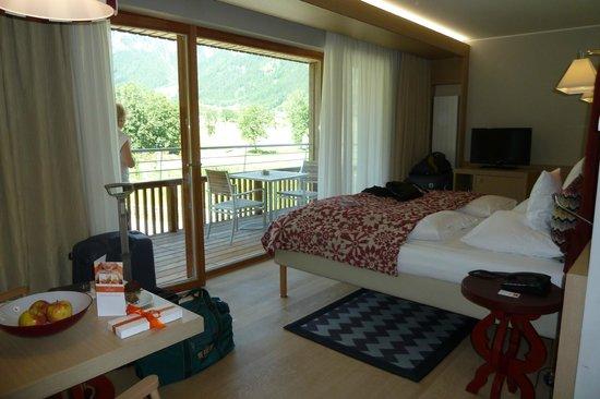 Travel Charme Bergresort Werfenweng: modern eingerichtete Zimmer