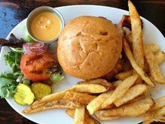 Station 22: Jack Kerouac Burger with Fries