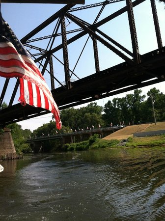 Turning Basin Riverboat Tours: God Bless America & Jefferson, TX