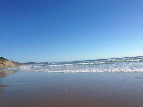 Beverly Beach State Park: The beach