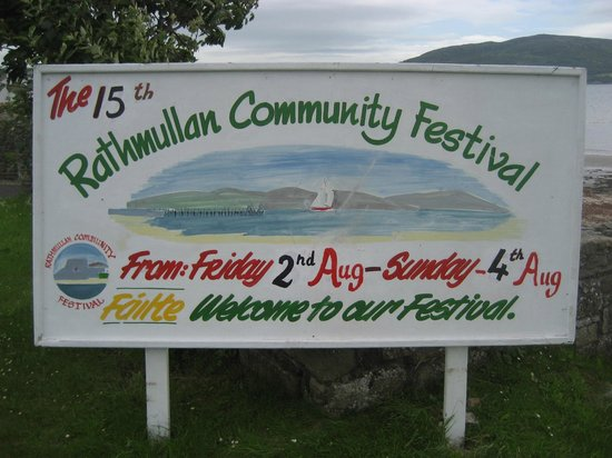 The Waters Edge: Festival Sign