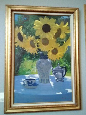 The Bradley Boulder Inn: nice painting