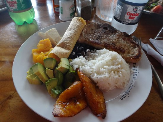 Toad Hall Hotel Arenal: Que Rico!