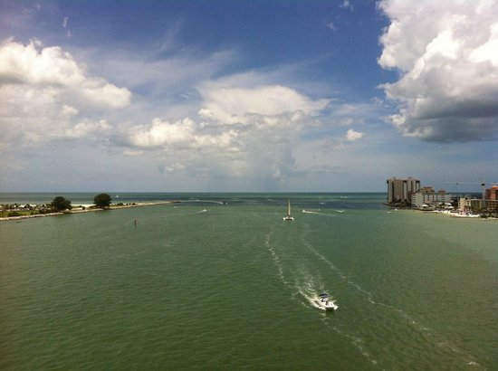Sheraton Sand Key Resort: From the top of the Sand Key-Clearwater bridge