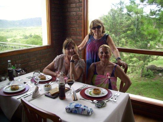 La Posada del Qenti Medical Wellness: Elena Veroní de Alé, Azucena Lomardi y Zaida Rocha