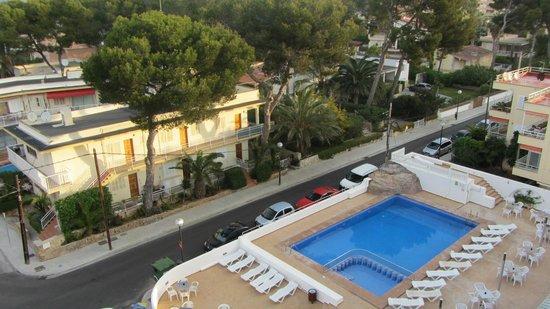 Hotel Palma Playa : Vista desde la habitación.