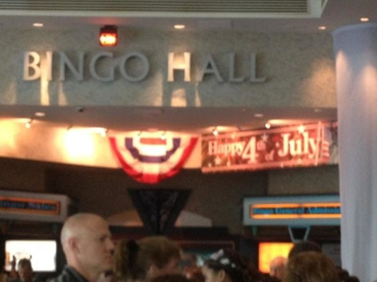 Mashantucket, CT: Bingo Hall
