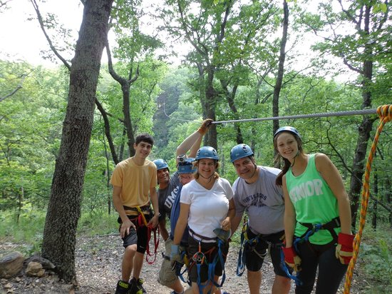 Eco Zipline Tours: Our crew