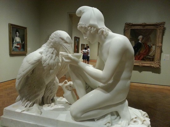 Minneapolis Institute of Art: Sculpture Ganymede and the Eagle