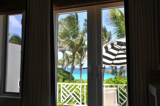 The Dunmore Hotel & Residences : View from Bed - beautiful French Doors