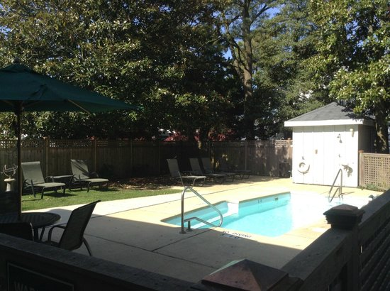 The Bellmoor Inn and Spa: Roof Pool