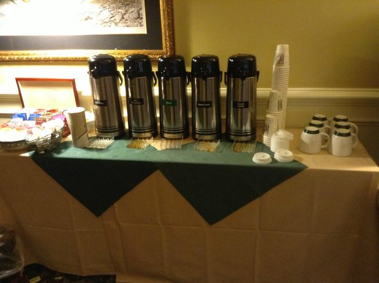 The Bellmoor Inn and Spa: Perfectly Brewed Coffee
