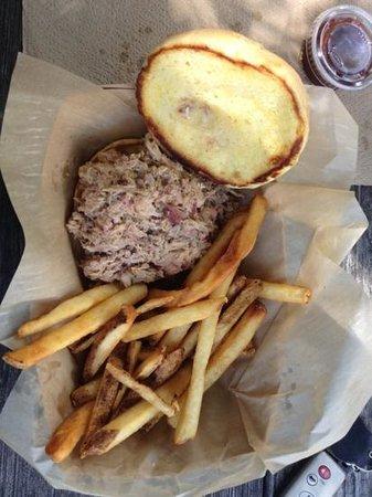 Old Rock Café: pulled pork