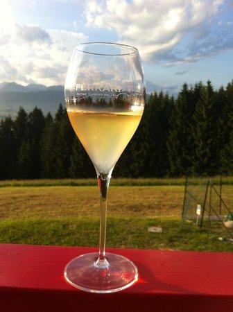 Mini Ristorante E Wine Bar : Bollicine al tramonto