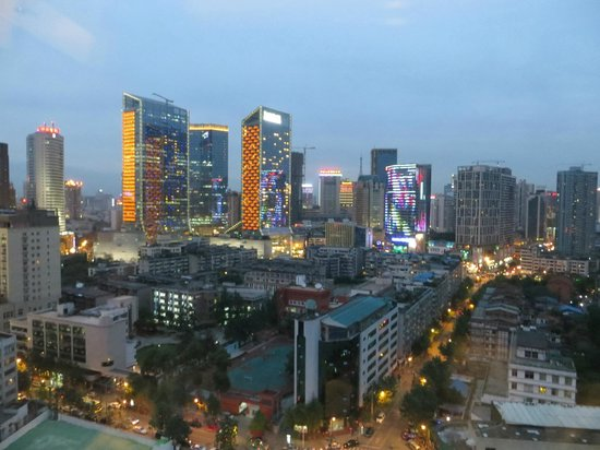 Sofitel Chengdu Taihe : View from regular room