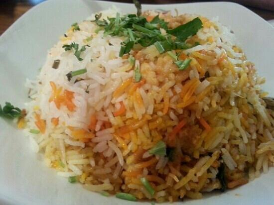 Giftos Lahore Karahi: riz biryani