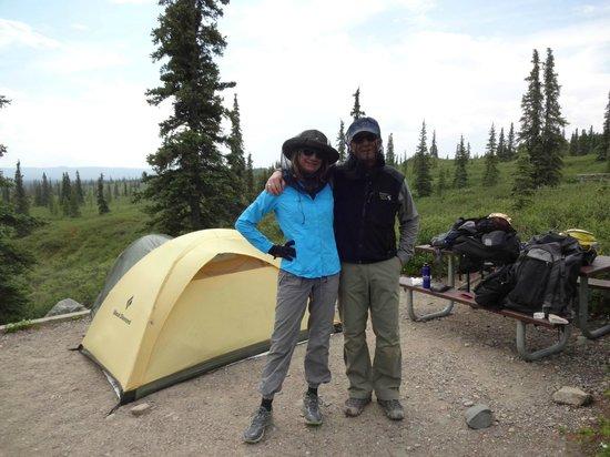 Wonder Lake Campground : Required gear in June at Wonder Lake