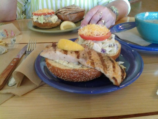 Mahi mahi fish sandwich at coconut 39 s picture of coconut for Coconut s fish cafe
