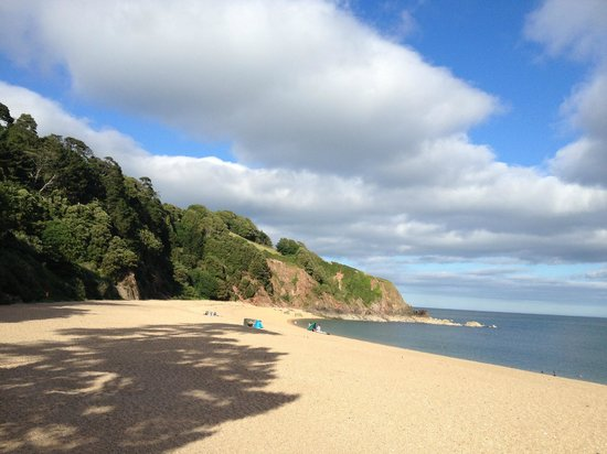 Venus Cafe: the view over Blackpool sands