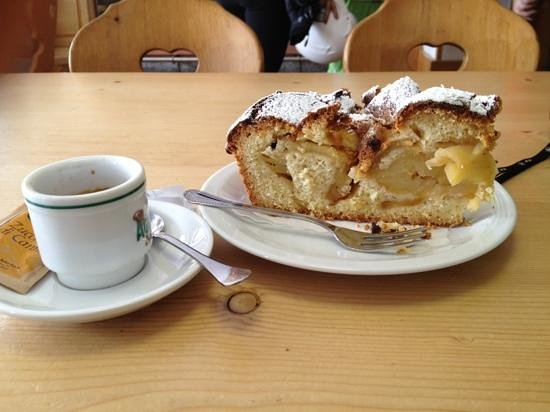 Rifugio Giorgio Graffer: torta di mele
