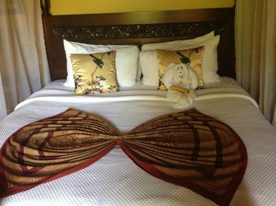 Nayara Resort Spa & Gardens: Room 7 bed